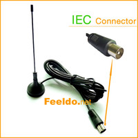 Wholesale 20set Car IEC Active Digital TV antenna with built in amplifier guruatee quality long life time