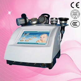 5 in 1 Red Led Lipo Light Ultrasound RF Vacuum Cavitation System Beauty Equipment for Body Slimming