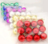 Wholesale Christmas ball Christmas gift Plastic ball Christmas Ball Light Paint Plastic Balls cm cm cm
