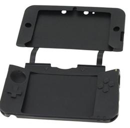 3ds xl jeux en Ligne-Retal vendant le nouveau cas de silicium d'arrivée pour la console de jeu de 3DS XL / 3DS LL font la couleur de mélange de bateau de chute