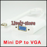 Mini DP Displayport Display Port to VGA Cable Adapter for Ap...