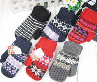 Wholesale Baby Knitted Mittens Boys Gloves Boxing Gloves Safe Glove Disposable Nitrile Protect Children Hand