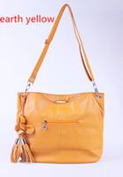 Jade Fox Handbags Shoulder Bag PU Leather Brown Earth Yellow...
