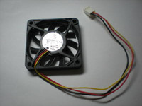 Wholesale Brushless DC Cooling Fan Blade V s Wire x60x10mm for computer case