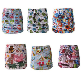 Wholesale Alva One Size Washable Reusable Cloth Diaper Covers Baby Diaper Colorful Bags baby cloth Nappy diaper