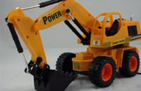 Wholesale 2015 children s toys construction vehicles wired remote control car remote control excavators crane