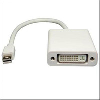 Wholesale 1pc Mini DisplayPort DP display port to DVI Adapter converter Cable for MacBook Pro Air HK post