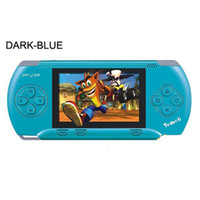 Wholesale PVP pocket PVP station Handheld console bit TV out games player Free Games Free Game card