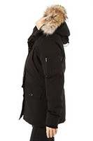 Wholesale CPA S4 fashion ladies down jackets Hoodie Down Jacket best quality cold proof keep warm coat