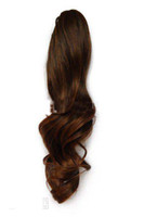 Wholesale new Style Clip Claw Ponytail loose curls hairExtension emp026