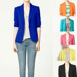 Wholesale women s cotton jacket shawl lace cardigan Candy color lined with striped Z suit W4100