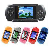 Wholesale 3 inch PVP pocket bit Handheld Video Game Player Console Free Games
