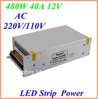 Wholesale 50pcs High Quality W A V Switch Power Supply Driver For Led Lights Strips input AC220V V