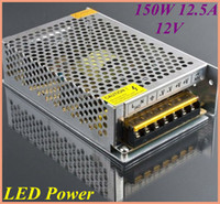 Wholesale 100pcs W A V Switching led Power Supply input AC V output for led strips