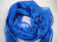 Wholesale 100pcs New Arrival Fashion Skull Scarves Shawls Xmas Gift Best Selling Mix Order