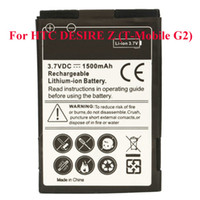 Wholesale Replacement Phone Battery For HTC DESIRE Z T Mobile G2 mAh New Ship From USA M01160