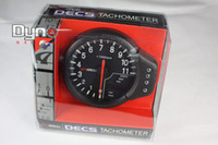 Wholesale 5 quot Apexi Auto Gauge Tachometer EL in Meter of Decs black or white replicate