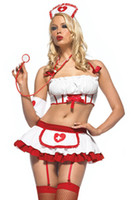 Wholesale amp Nurse Uniform New Arrival Sexy Lingerie Nurse Costume DT1002