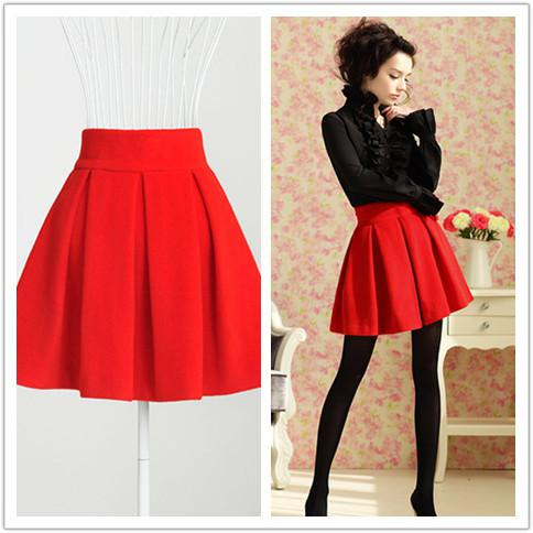 2017 Fashion 2012 Autumn And Winter Skirt Women Casual Mini Skirt ...
