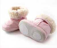 Wholesale Baby Boots Infant Snow Boots Kid Antiskid Soft Sole Shoes Children Winter Boots Shoes Size M XXL