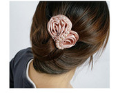 mix colours Women's Party New Design Pearl Rose Hairpin ,Women Hair Clip ,Hair Accessories Best Gift