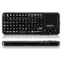 Wholesale Bluetooth mini wireless keyboard K10BTT Fly Air Mouse android TV keyboard