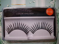 Wholesale New Make Up Black False Eyelashes