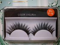 Wholesale New Make Up Black False Eyelashes