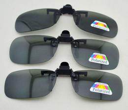 Free shipping black polarized clip up driving sunglasses, flip up eyewear sunglasses