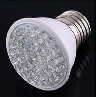 Wholesale Hot sales W E27 leds White Color LED light bulb Spotlight