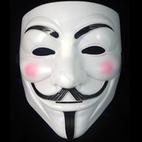 Wholesale 10pcs V For Vendetta Guy Fawkes Fancy Dress Party Halloween Masquerade Face Mask Cool