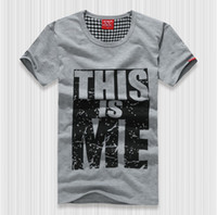 Wholesale This is me T Shirt Lovers Women s Men s Colors Summer Cotton active