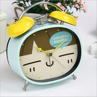 Wholesale cartoon alarm clock creative household alarm clock lovely alarm clock