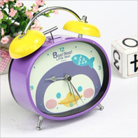 Wholesale Lovely cartoon style alarm clock children s creative alarm clock desktop decoration