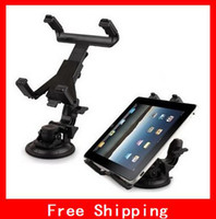 Wholesale Car Inch Gps Holder - sample order Popular Car Mount Holder Cradle Bracket Clip Car Holder 10 7 8 inch Tablet PC GPS For Back On Car 1pcs lot