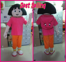 Wholesale Real Image Custom Products Best Selling A Sunny Girl Cartoon Character Costume Mascot