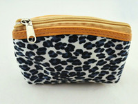 Wholesale Fashion Pouch Animal Print Change Coin Wallet Leopard Women Coin Purse Free Shippping