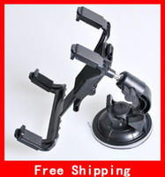 Wholesale Adjustable Cradle Bracket Clip Car Holder For inch Tablet PC For Back On Car