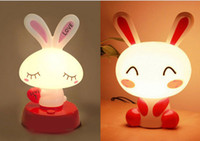 Wholesale hot Mini Carton Table Lamps Rechargeable Book Light Table LED Lamp mix style cute for kids