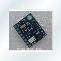 Wholesale GY DOF BMP085 Module MS5611 HMC5883L MPU6050 Module MWC Flight Control Sensor Module