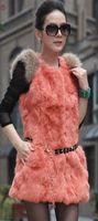 Wholesale 2014 new rabbit hair vest PI cao grow a lady rabbit hair ma3 jia3 furs