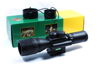 Red Dot & Laser Scope ao scopes - JGBG Accurate M8 x40 AO Red green illuminated compact scope with red laser sight
