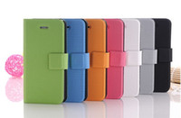 basketball card holders - Basketball surface Flip Leather case for iPhone with card holder walletcase for iPhone5 G