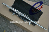 Wholesale silve Flute Made in Japan Professional Woodwind Silver Flute with case