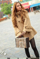 Wholesale Autumn and Winter New European and American style Fashion Classic Woolen cape Coat