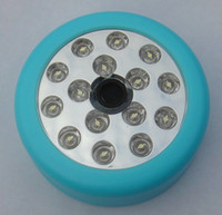 Wholesale Bright LED Night White Infrared Sound Sensor Motion Detector Light Power by x AA Battery