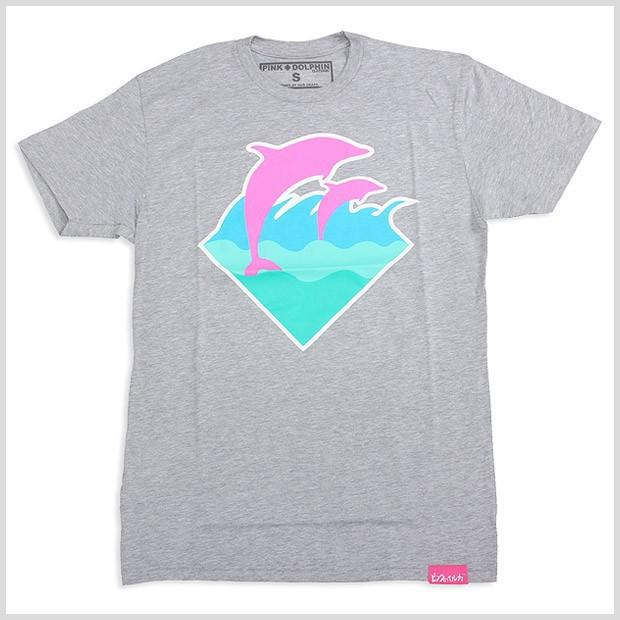 pink dolphin t shirt is shirt