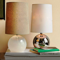 Wholesale American rural Nordic craft glass table lamp for bedroom living room dinning room
