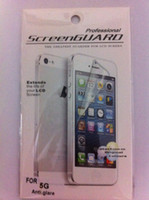Wholesale Anti glare matte LCD Screen Protector Film Guard Case For iphone G S Detail package