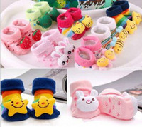 Wholesale three dimensional socks baby animal model socks wool socks baby doll socks Can choose style